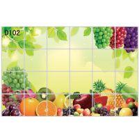 Decal dán tường Dán bếp trái cây đủ loại 1