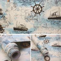 Giấy decal cuộn Bản đồ hàng hải 2