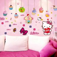 Decal dán tường Hello Kitty 17