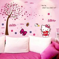 Decal dán tường Hello Kitty 18