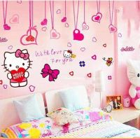 Decal dán tường Hello Kitty 20