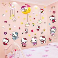Decal dán tường Hello Kitty 25