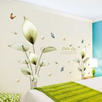 Decal dán tường Hoa trầu bà