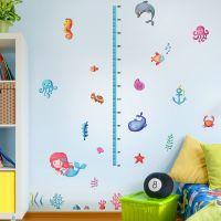 Decal dán tường Thước đo cá đại dương