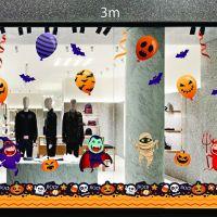 Decal dán tường Decal trang trí Halloween 2018 số 34