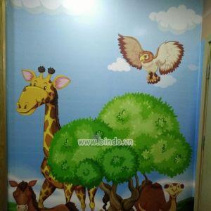 Tranh vườn thú 2