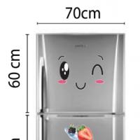 Decal dán tường Decal trang trí tủ lạnh số 10