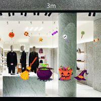 Decal dán tường Vật dụng trang trí lễ Halloween