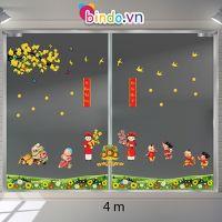 Decal dán tường Trang trí Tết Xuân Combo Số 6