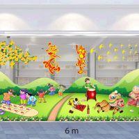 Decal dán tường Decal trang trí tết xuân 2020 combo số 33