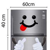 Decal dán tường Decal trang trí tủ lạnh số 1