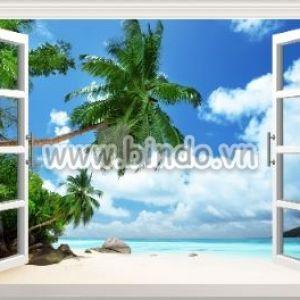 Tranh cửa sổ biển 2