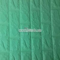 Xốp dán tường màu xanh ngọc (8mm)