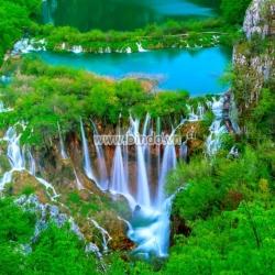 Tranh thác nước trong Vườn quốc gia Plitvice 2