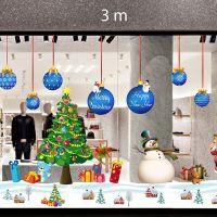 Decal dán tường Trang trí Noel Combo Số 19