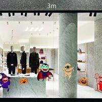 Decal dán tường Các nhân vật để trang trí Halloween