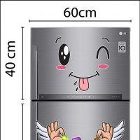 Decal dán tường Decal trang trí tủ lạnh số 12