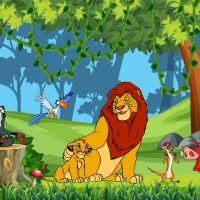 Tranh 3D vua sư tử và những người bạn (Lion King) số 7