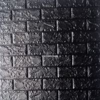 Xốp đá dán tường màu đen (8mm)