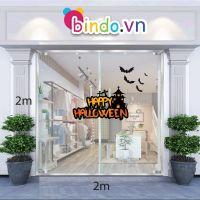 Decal dán tường Decal trang trí Halloween số 61