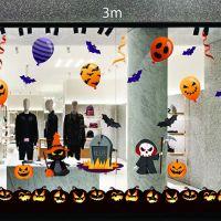 Decal dán tường Decal trang trí Halloween 2018 số 35