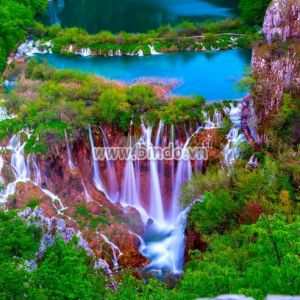 Tranh thác nước trong Vườn quốc gia Plitvice 1