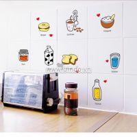 Decal dán tường Dán tủ lạnh ngộ nghĩnh 2