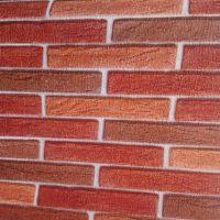 Decal dán tường Decal Gạch Đỏ 3D