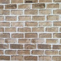 Decal dán tường Decal gạch xám nâu khổ 90cm