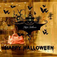 Decal dán tường Halloween 11