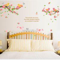 Decal dán tường Sắc màu mùa xuân
