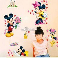 Decal dán tường Mickey yêu thương