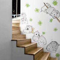 Decal dán tường Những chú chuột đáng yêu