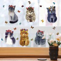 Decal dán tường Những chú mèo dễ thương