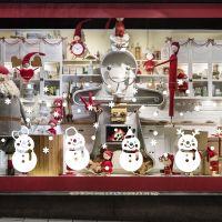 Decal dán tường Noel 68 -Những người bạn tuyết