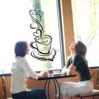 Decal dán tường Tách cà phê 2
