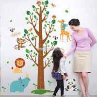 Decal dán tường Thước đo vườn thú 4