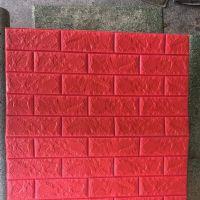 Decal dán tường Xốp dán tường màu đỏ (8mm)
