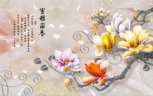tranh ngoc hoa sứ đủ mầu