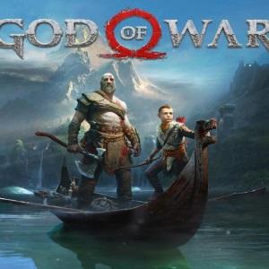 Tranh game God of war 4