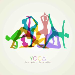 Tranh dán tường động tác tập YOGA số 4
