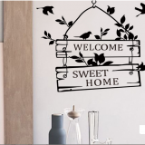 Decal dán tường Bảng welcome 2