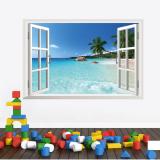 Decal dán tường Cửa sổ biển Zooyoo