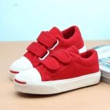 Giày vải cho bé trai màu đỏ