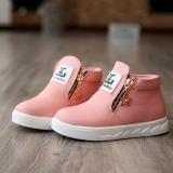 Giày cho bé gái màu hồng phấn