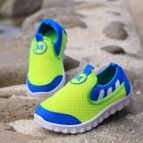 Giày cho bé màu xanh mi nơ