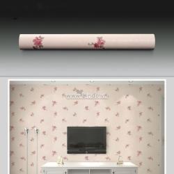 Decal dán tường Giấy decal cuộn họa tiết hoa hồng nhỏ