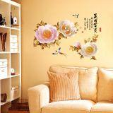 Decal dán tường Hoa hồng xuân 3