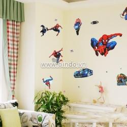Decal dán tường Người nhện - Spider man