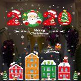 Decal dán tường Noel 95 - Thành phố Noel